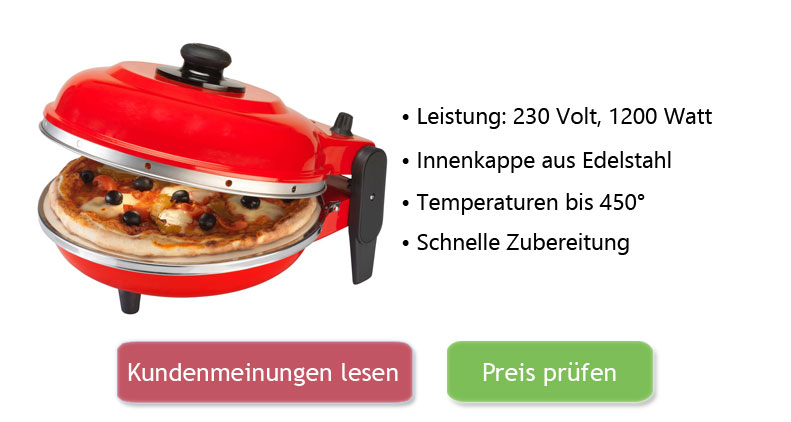 Optima Pizzaofen Test
